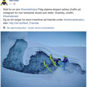 Facebook med god oversettelse